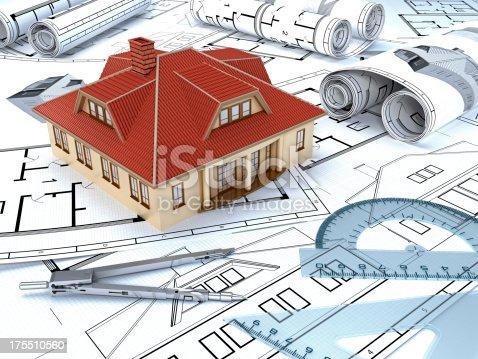 845440944istockphoto House construction 175510560