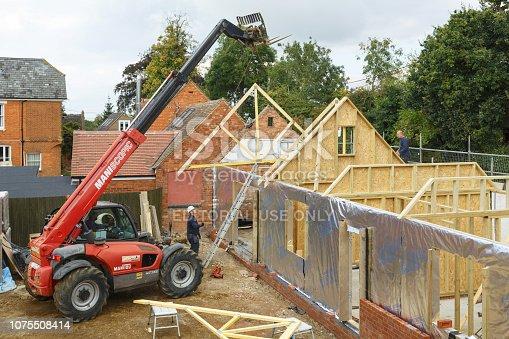 534196421 istock photo House construction site 1075508414