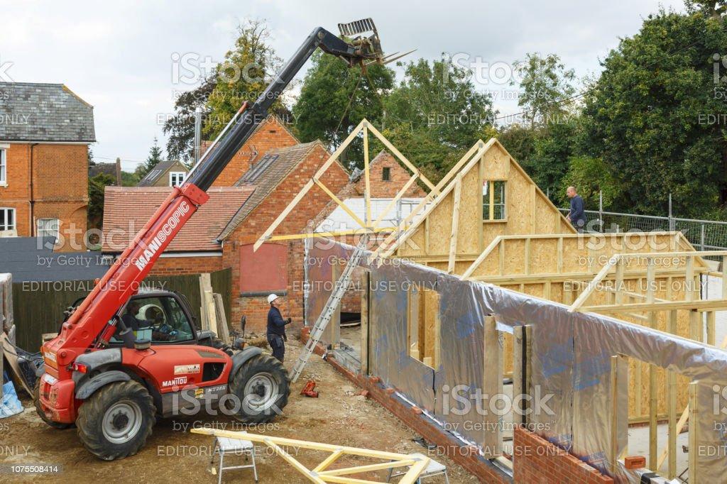 Chantier de construction de maison - Photo