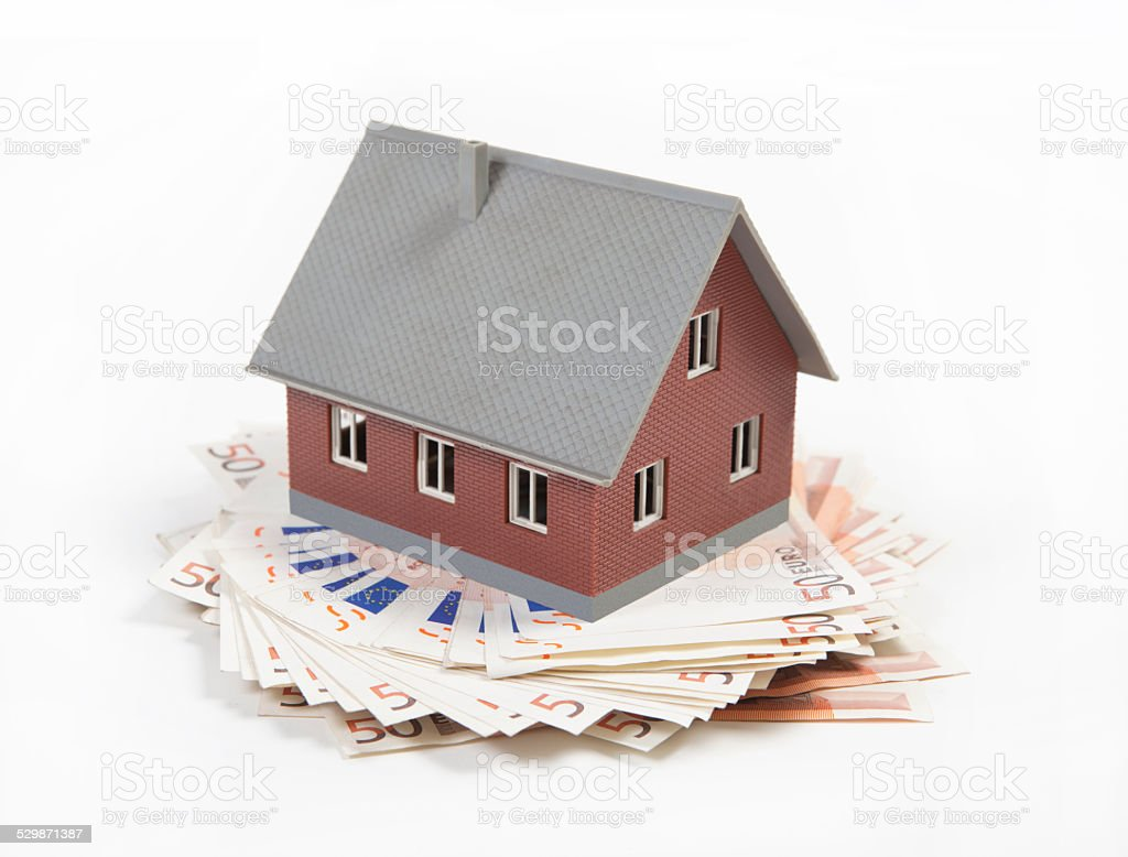 house costs a lot of money stock photo