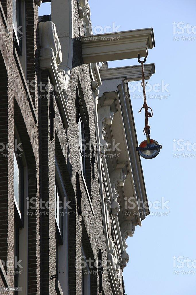house crane royalty-free stock photo