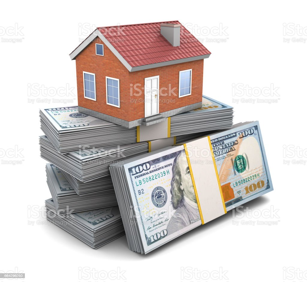 house credit stock photo