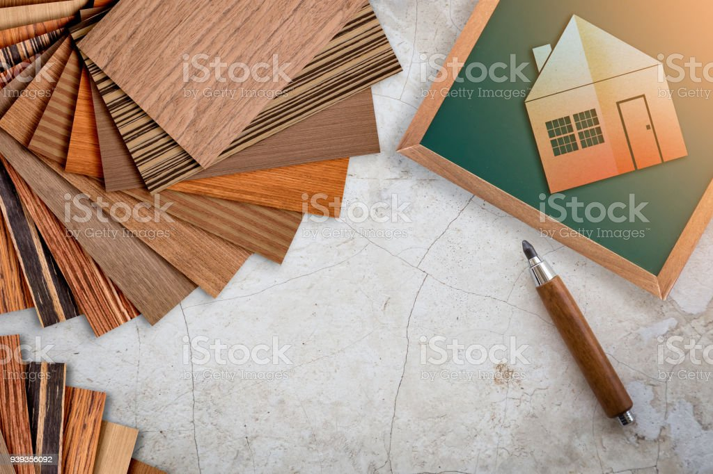 House Design Ideas Concept With House Paper Cut Shape And