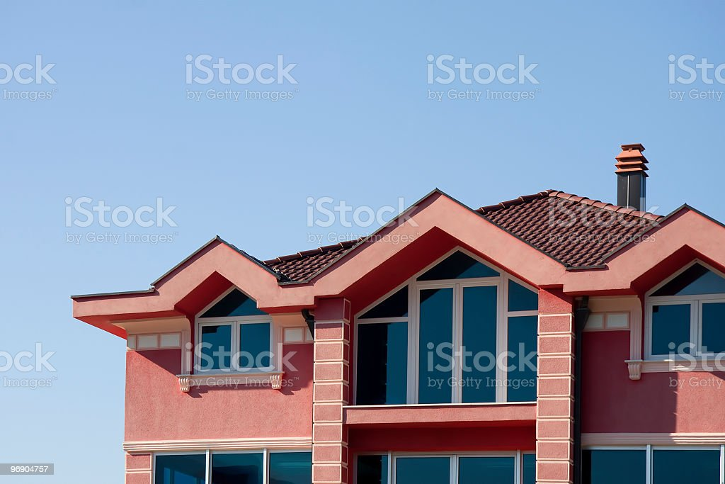 House detail royalty-free stock photo