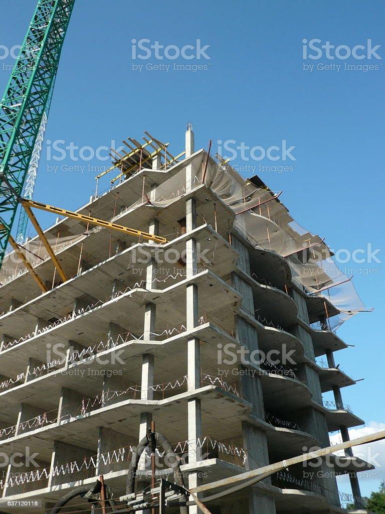 house develop stock photo