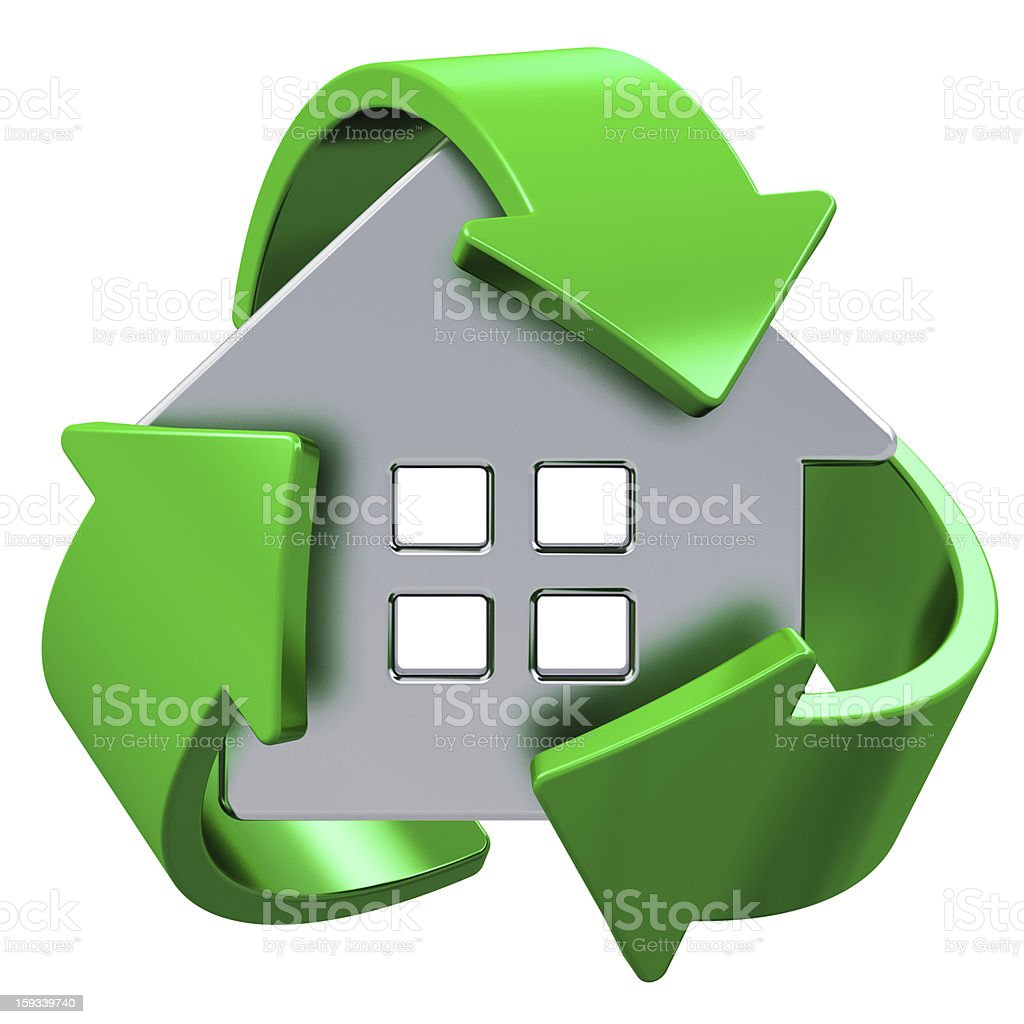 House ecology concept royalty-free stock photo