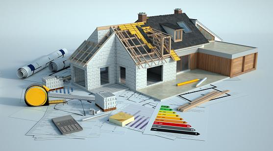House enlargement works