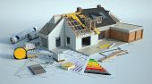 istock House enlargement works 1250496484