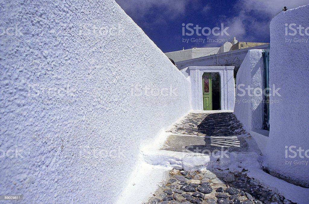 House Entrance on Paros 免版稅 stock photo