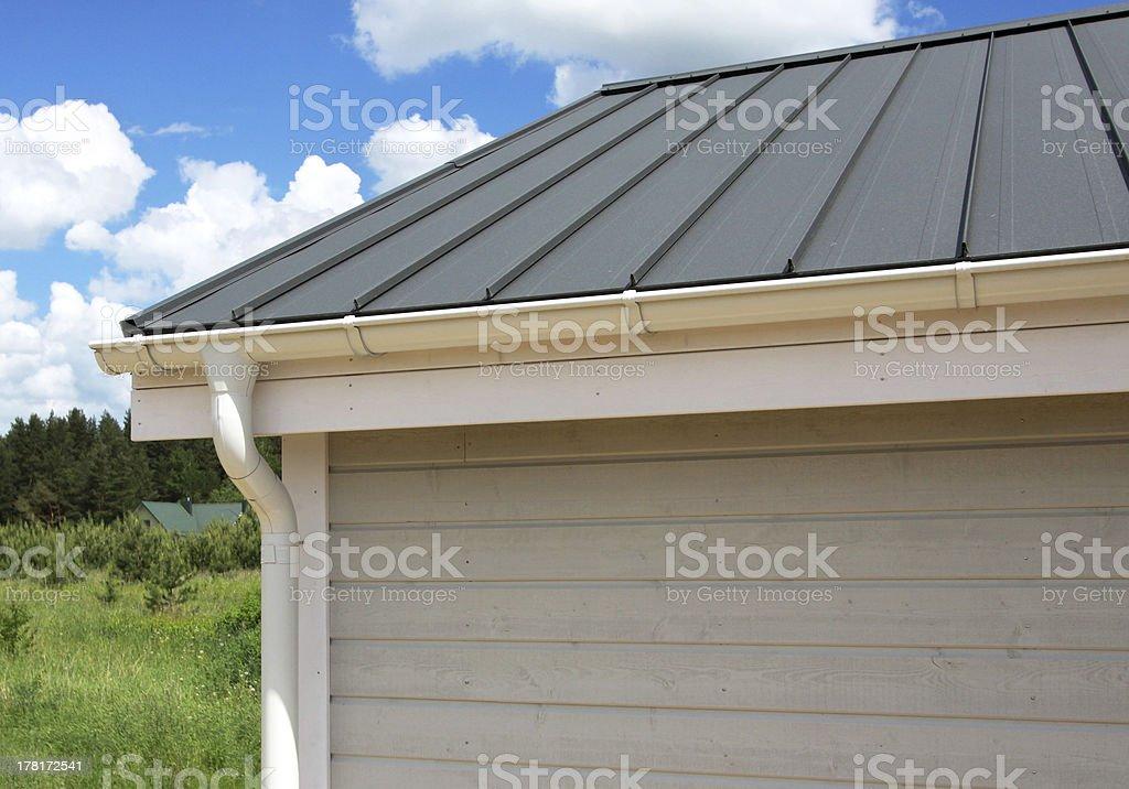House exterior stock photo