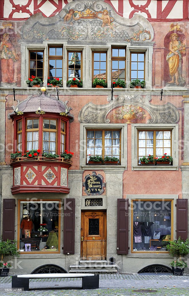 House facade royalty-free stock photo