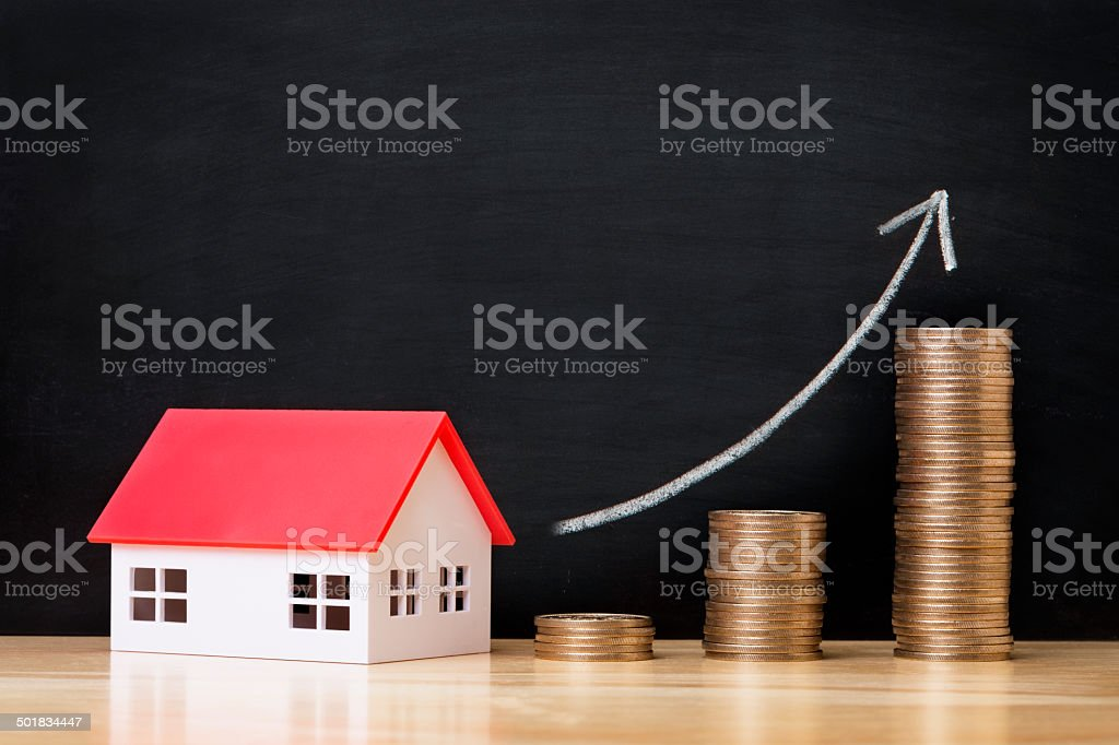 House financial stock photo