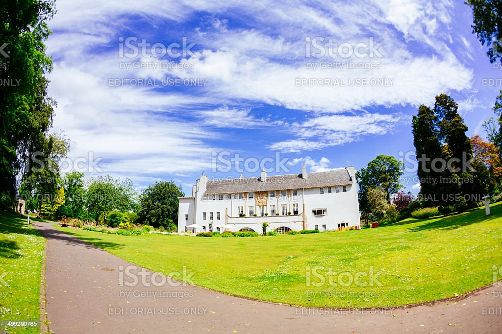 House For An Art Lover, Glasgow royalty-free stock photo