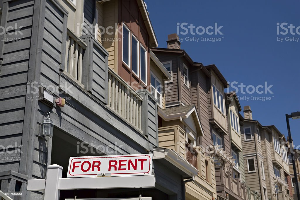 House For Rent royalty-free stock photo