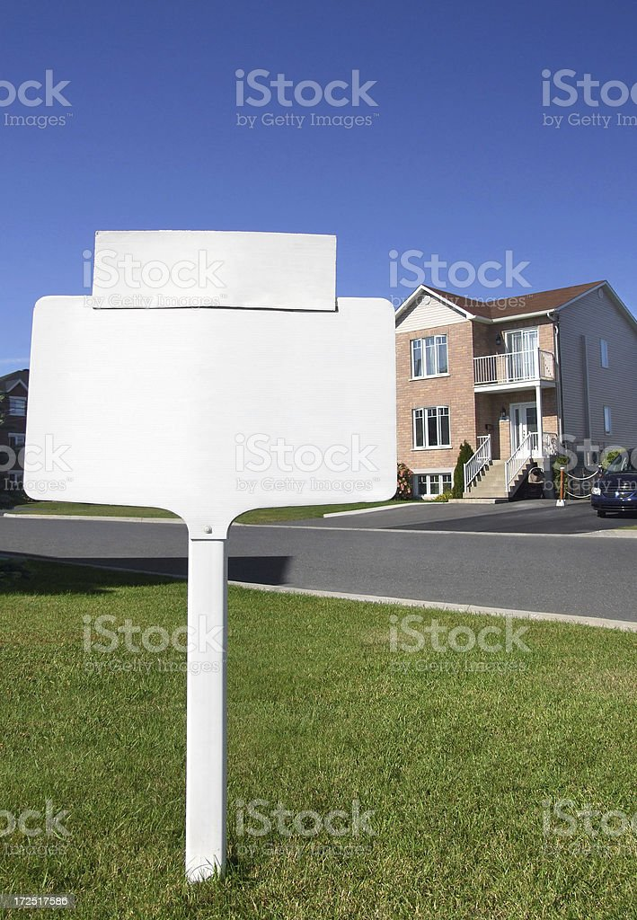 House for Sale / Real Estate stock photo