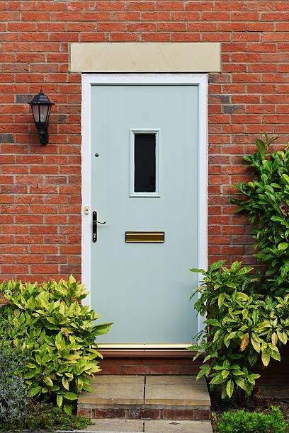 House Front Door stock photo