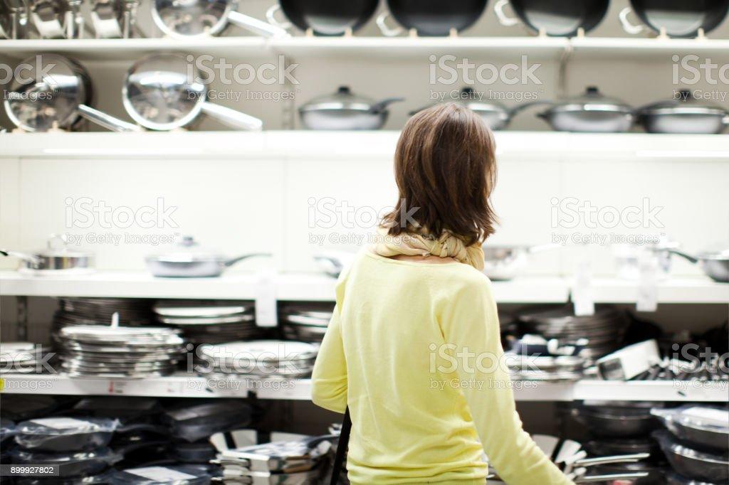 House Goods Shopping stock photo