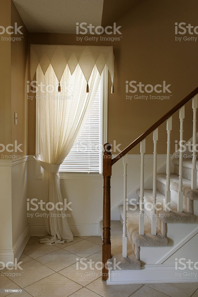 House hallway royalty-free stock photo