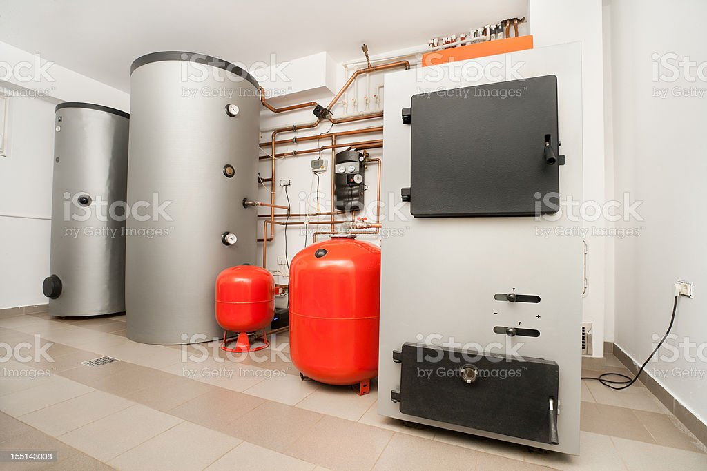 House Heating System royalty-free stock photo