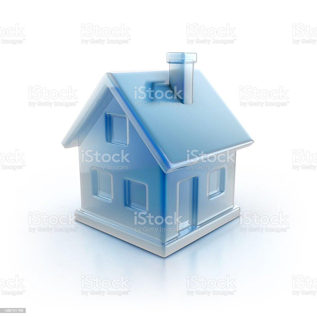 house icon 3d illustration stock photo