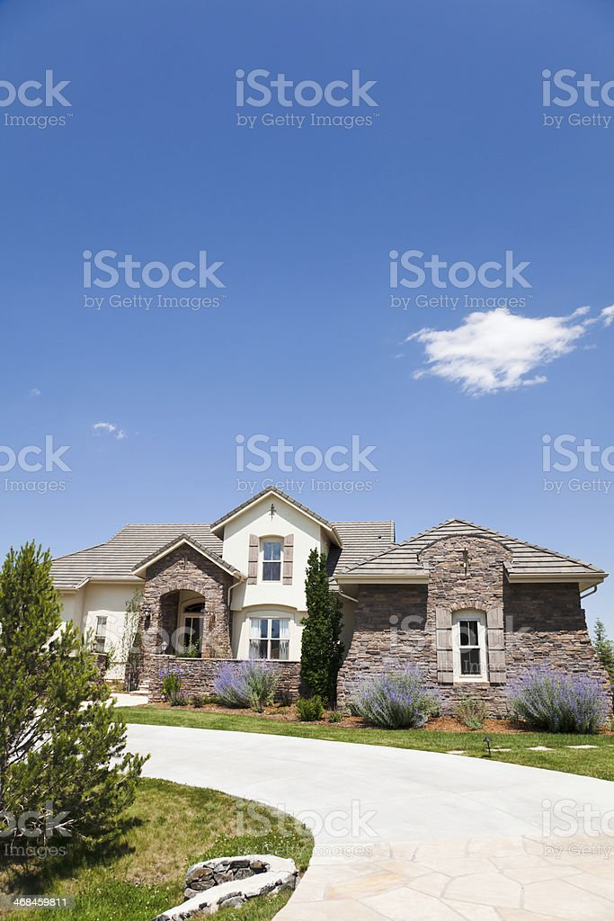 House in Colorado stock photo