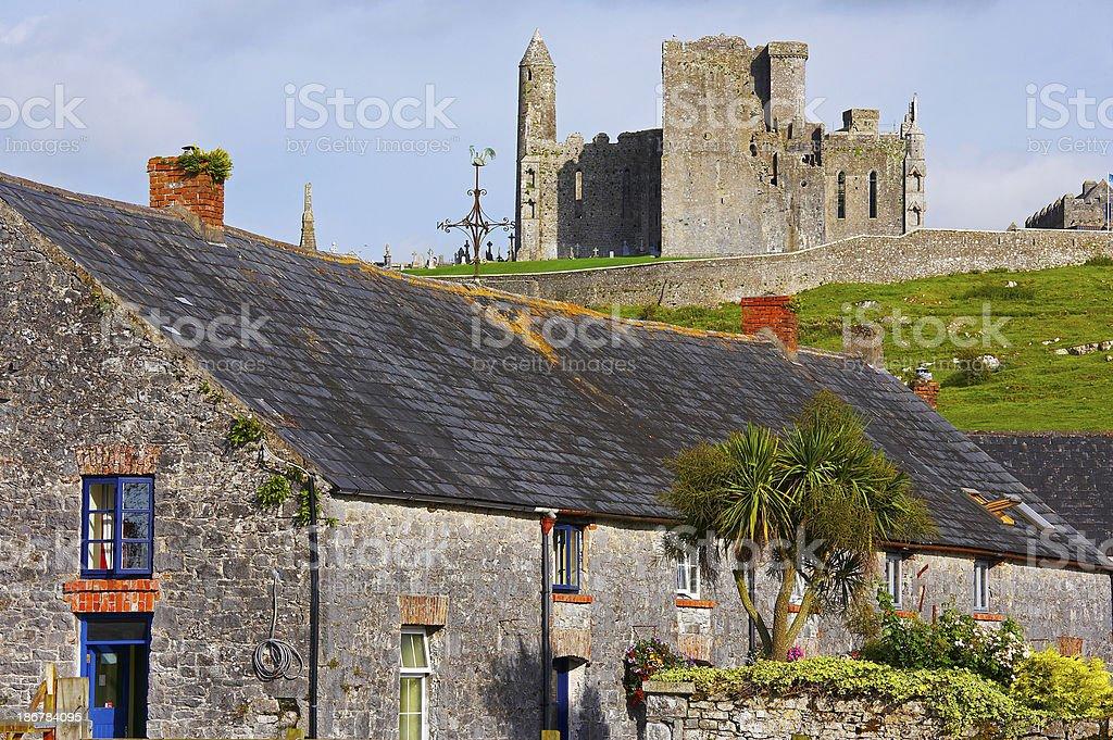 House in ireland stock photo