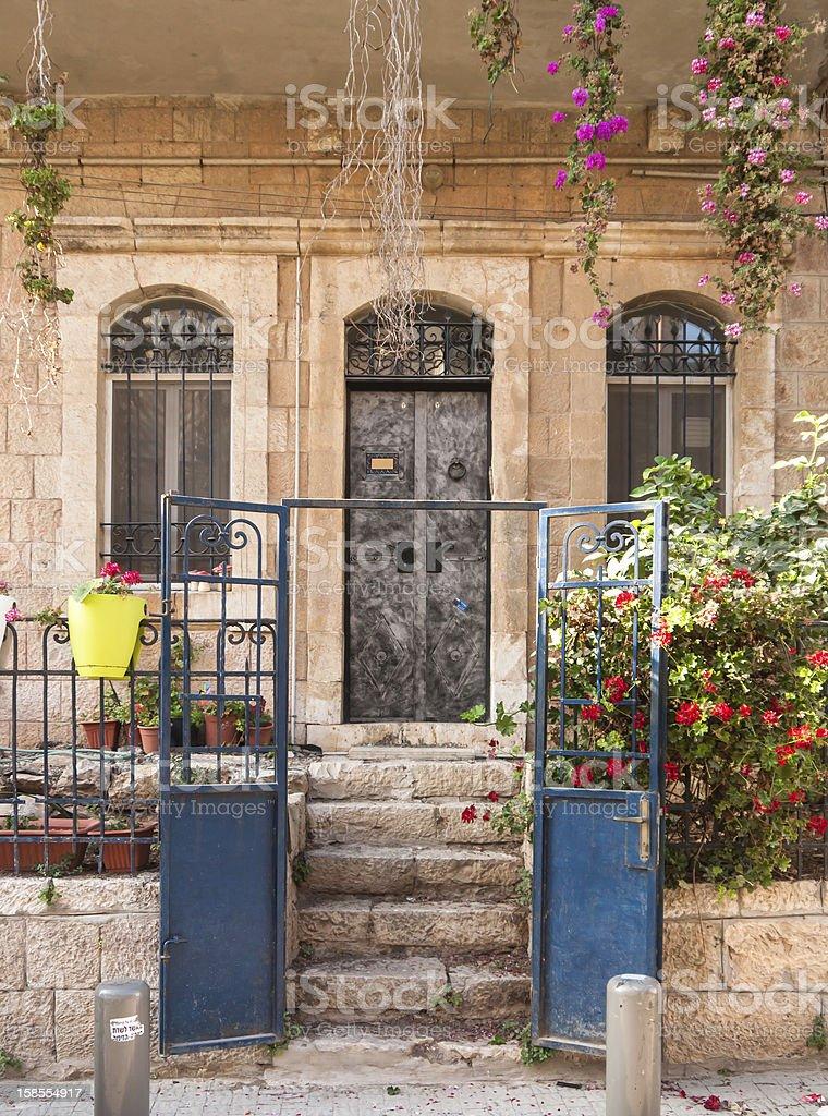 하우스 내 예루살렘 royalty-free 스톡 사진
