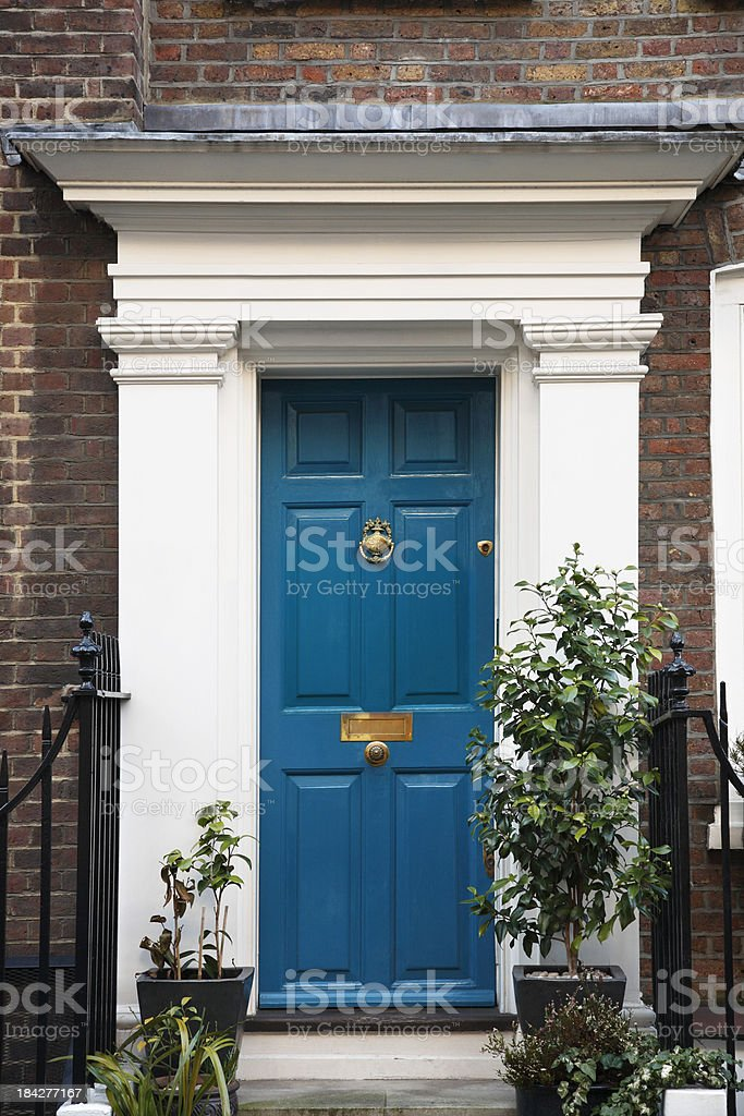 House in London royalty-free stock photo