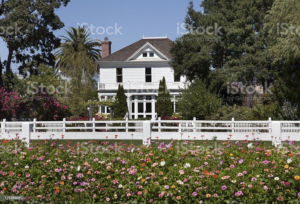 House in Napa Valley California royalty-free stock photo