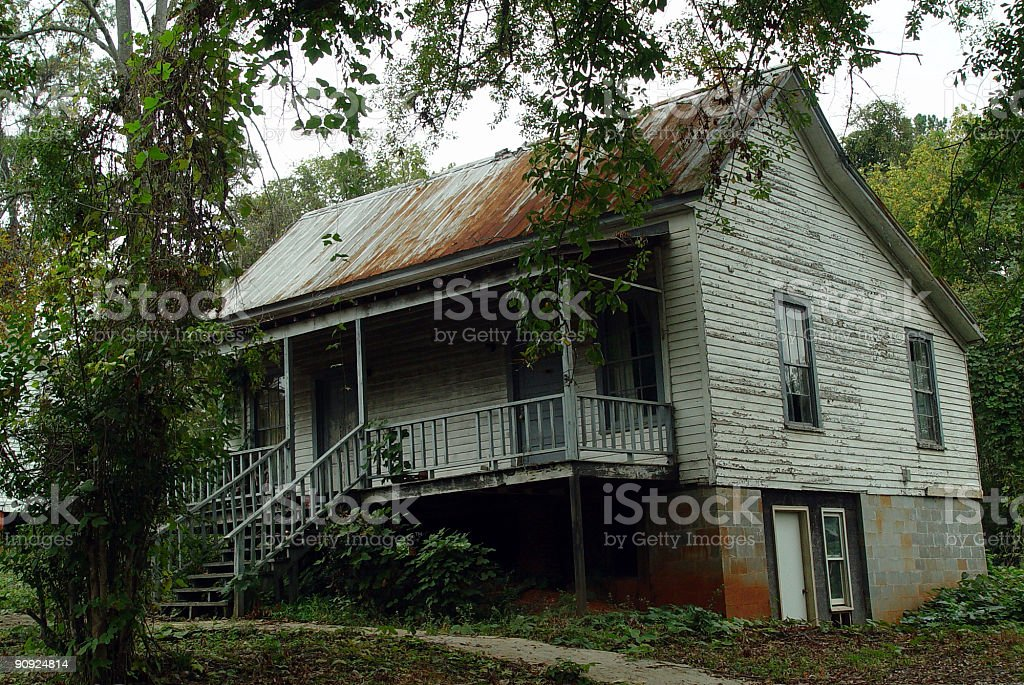 House in Need of Repairs stock photo