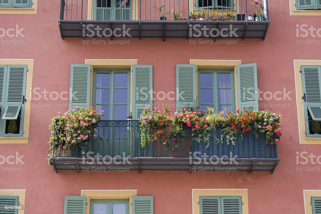 House in Nice royalty-free stock photo