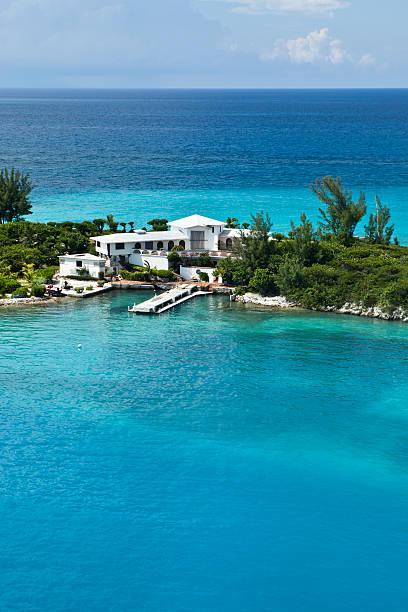 House In Paradise (High Horizon) stock photo