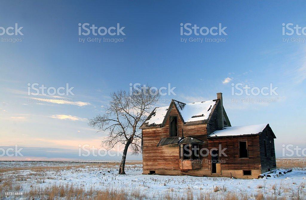 House in Ruin royalty-free stock photo