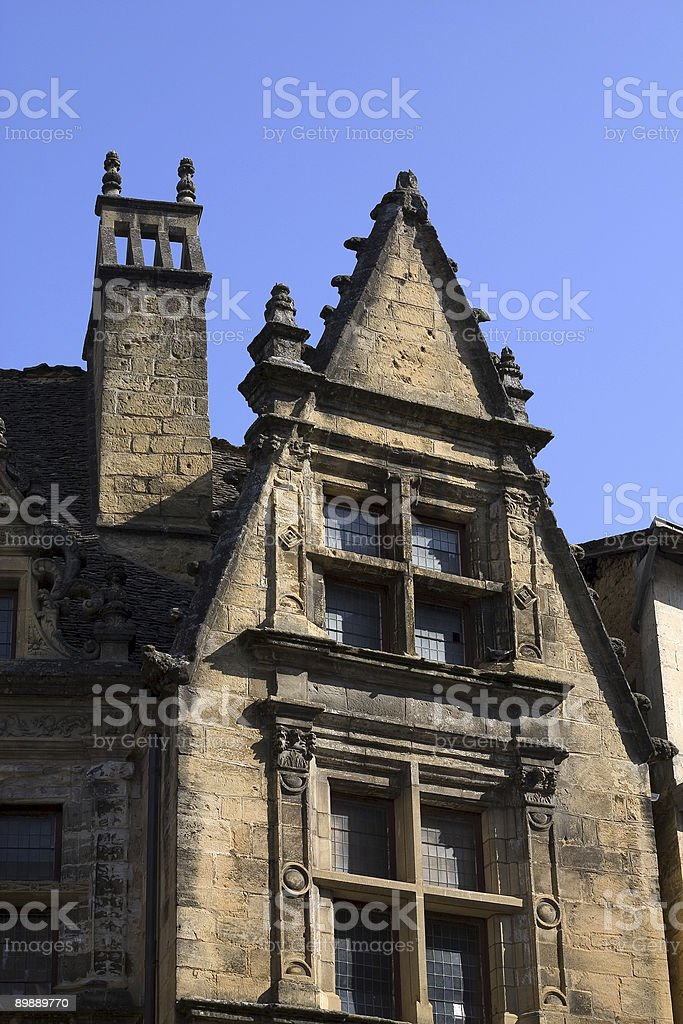 House in Sarlat, France royalty-free stock photo