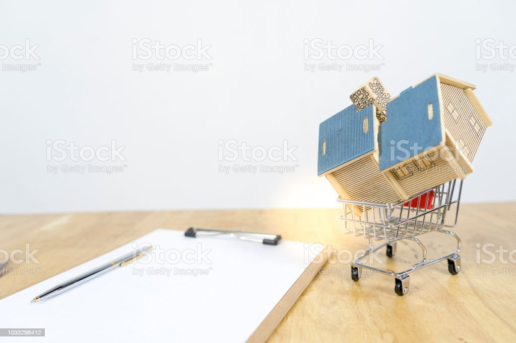 House In Shopping Cart Contract Of Purchase House How To Become A