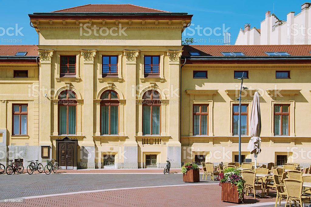 House in Szeged stock photo