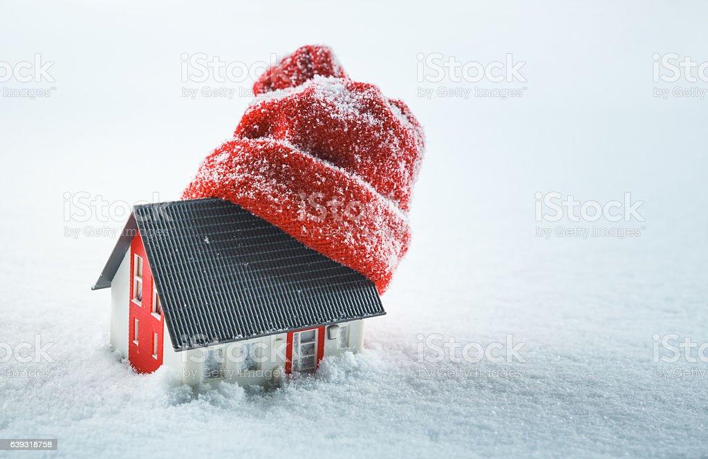 House insulation stock photo