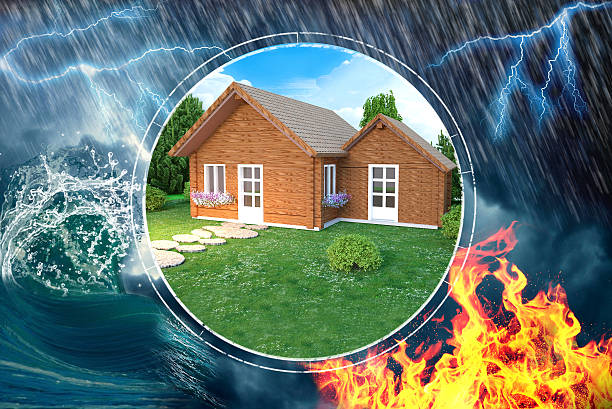 House insurance against damage and disaster – Foto