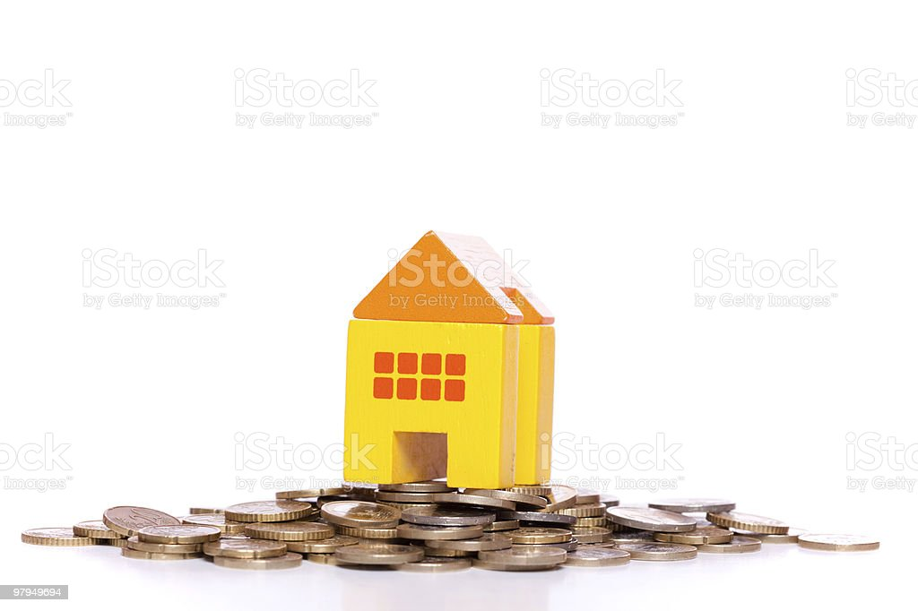 House investment royalty-free stock photo