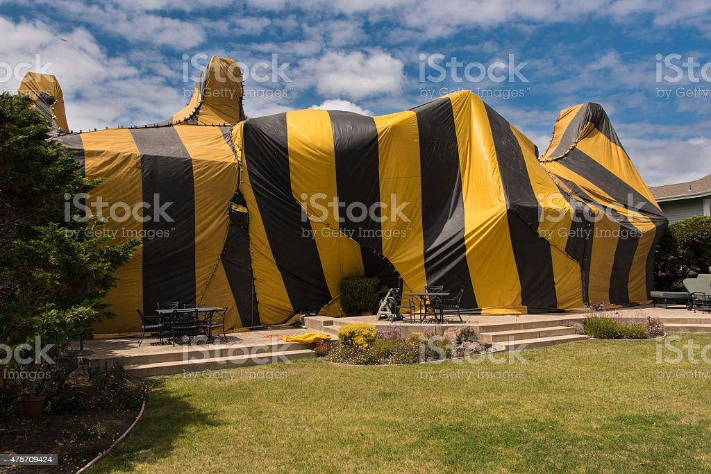 Hous'ist von für fumigation tent – Foto