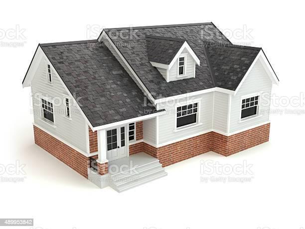 House isolated on white real estate concept picture id489953842?b=1&k=6&m=489953842&s=612x612&h=hvirmczszm9lyiwwxmd0kb5pks31u2waqzfswvsporq=