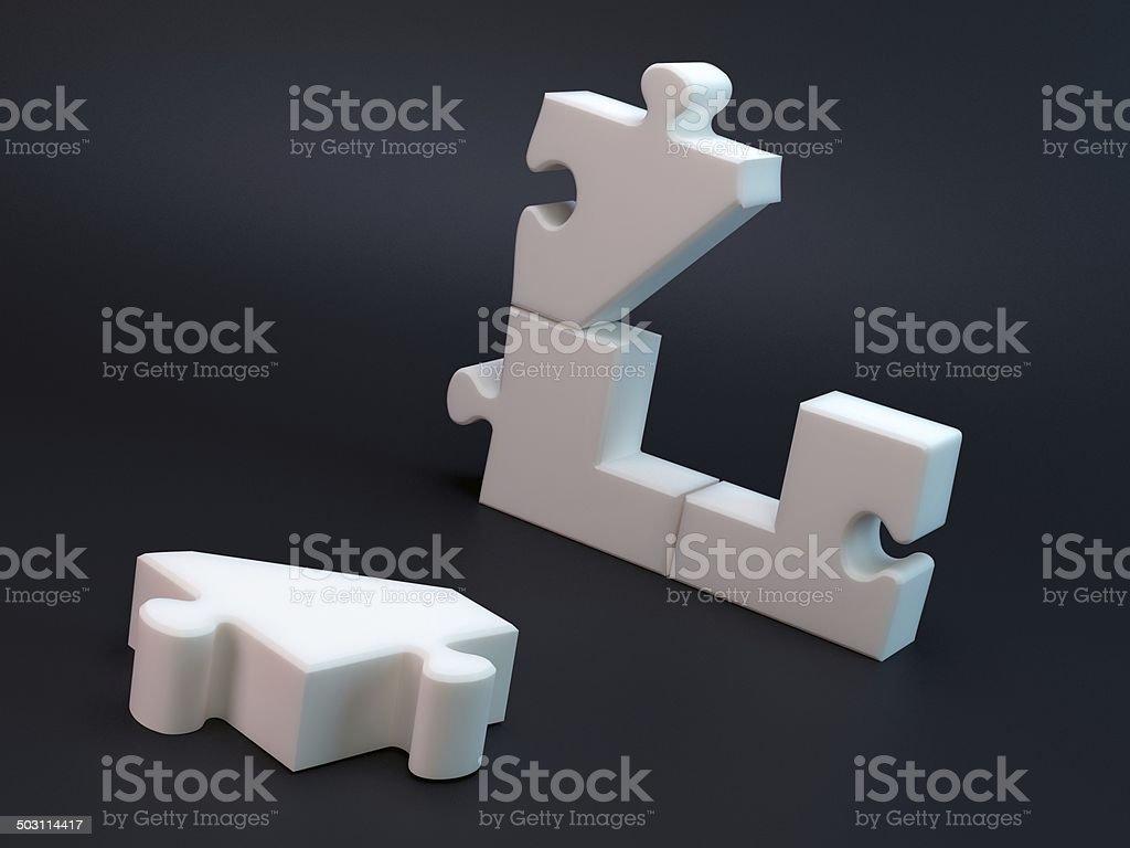 House puzzle – Foto