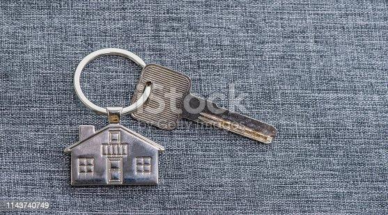 845342284 istock photo House Key And Key chain 1143740749