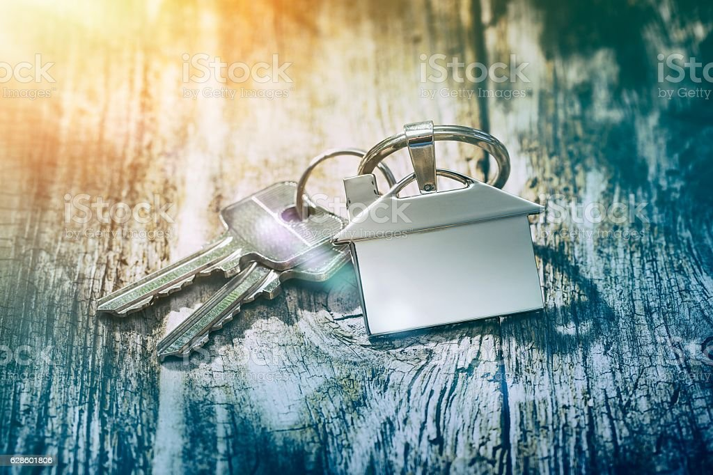 House key concepts. stock photo