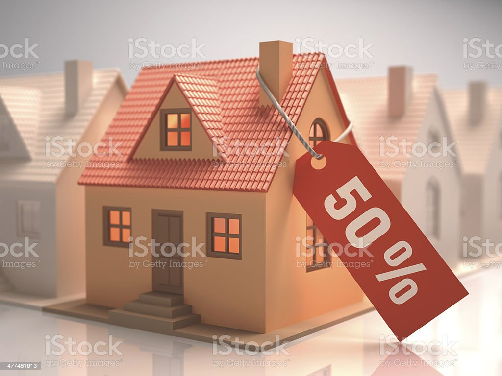 House Liquidation stock photo