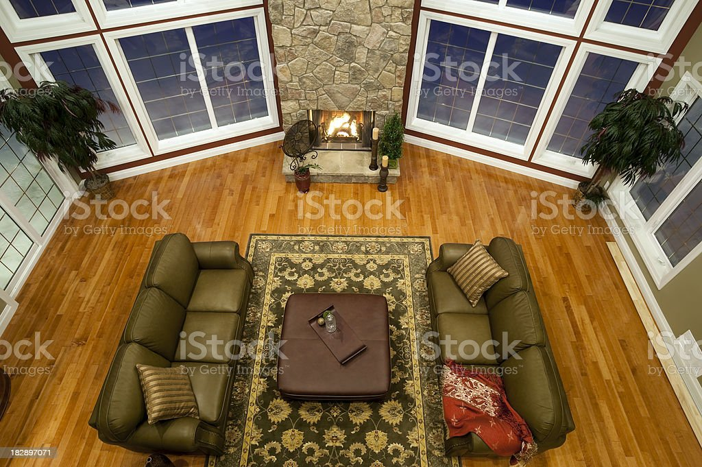 house livingroom royalty-free stock photo