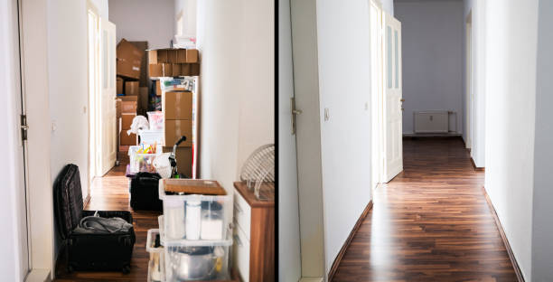 House Mess And Junk Declutter stock photo