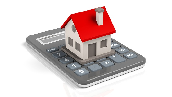 istock House model on a calculator 960217162