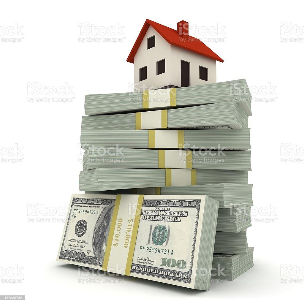 House Mortgage stock photo