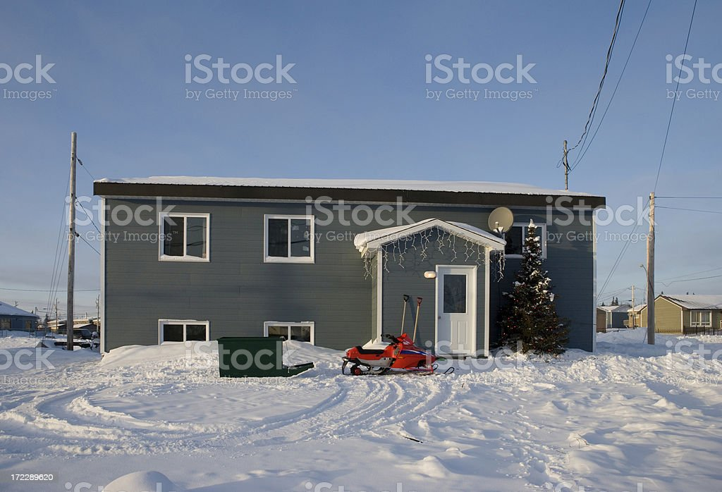 House , Northern Quebec stock photo